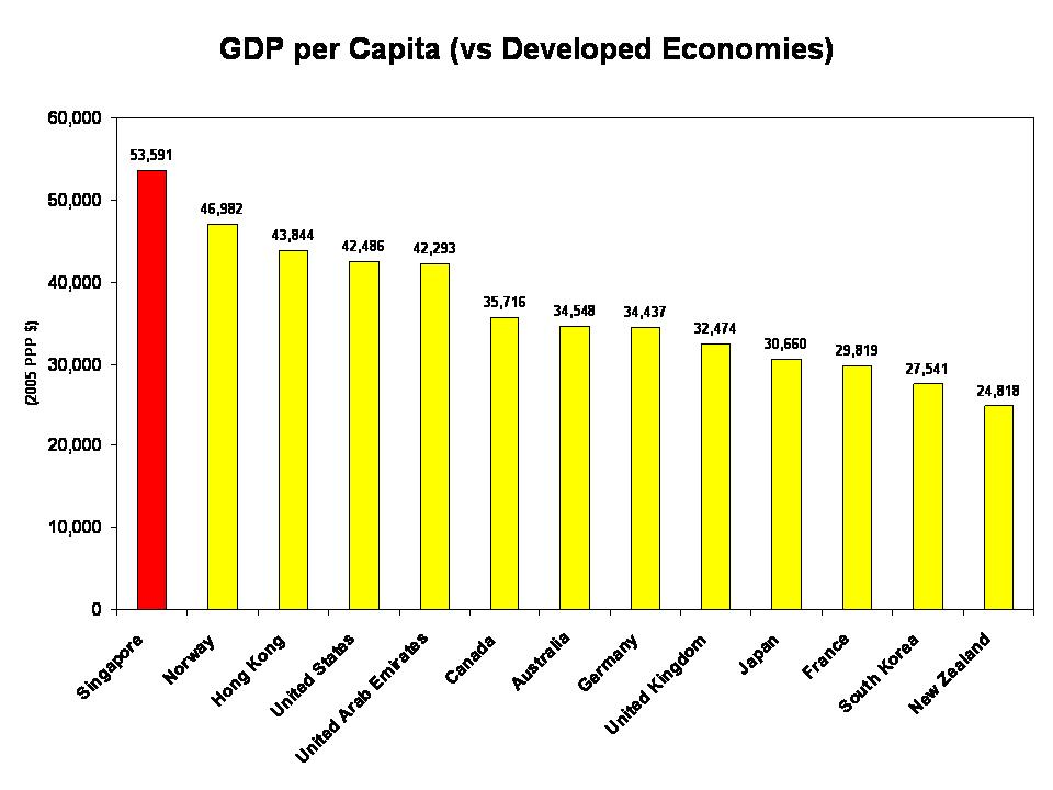 PM Lee Grow The Economy To Grow Your Wages Oh Really The - Income per capita by country 2015