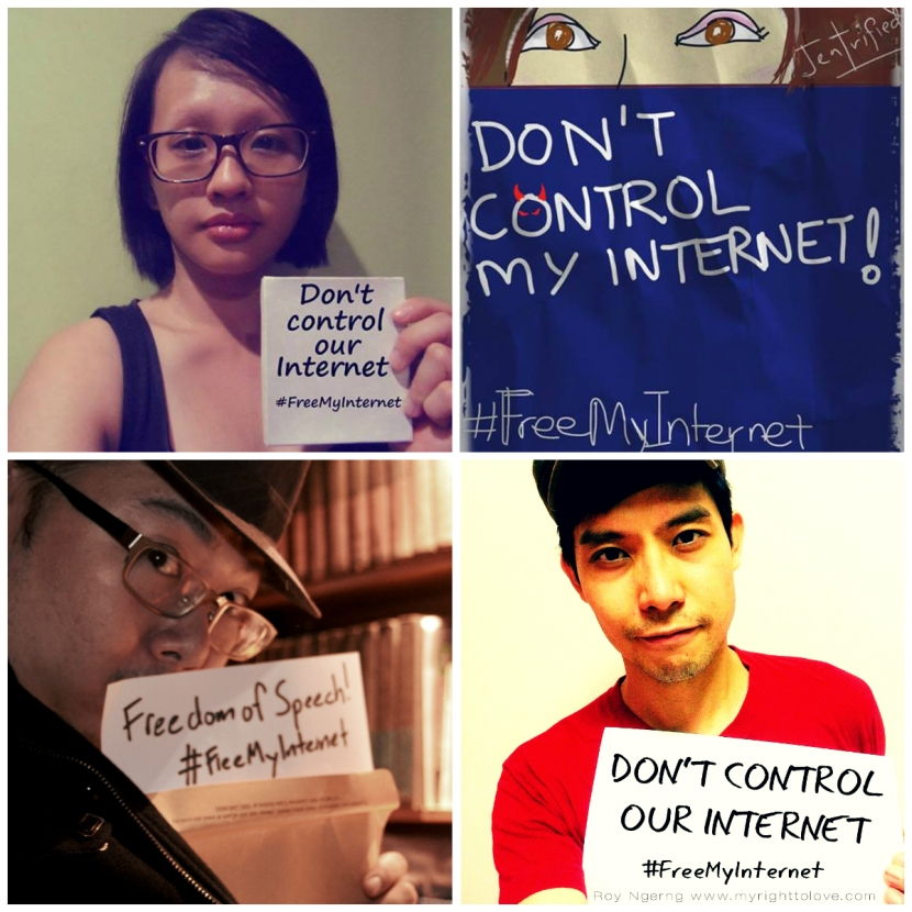 FreeMyInternet Viral Campaign Collage 3