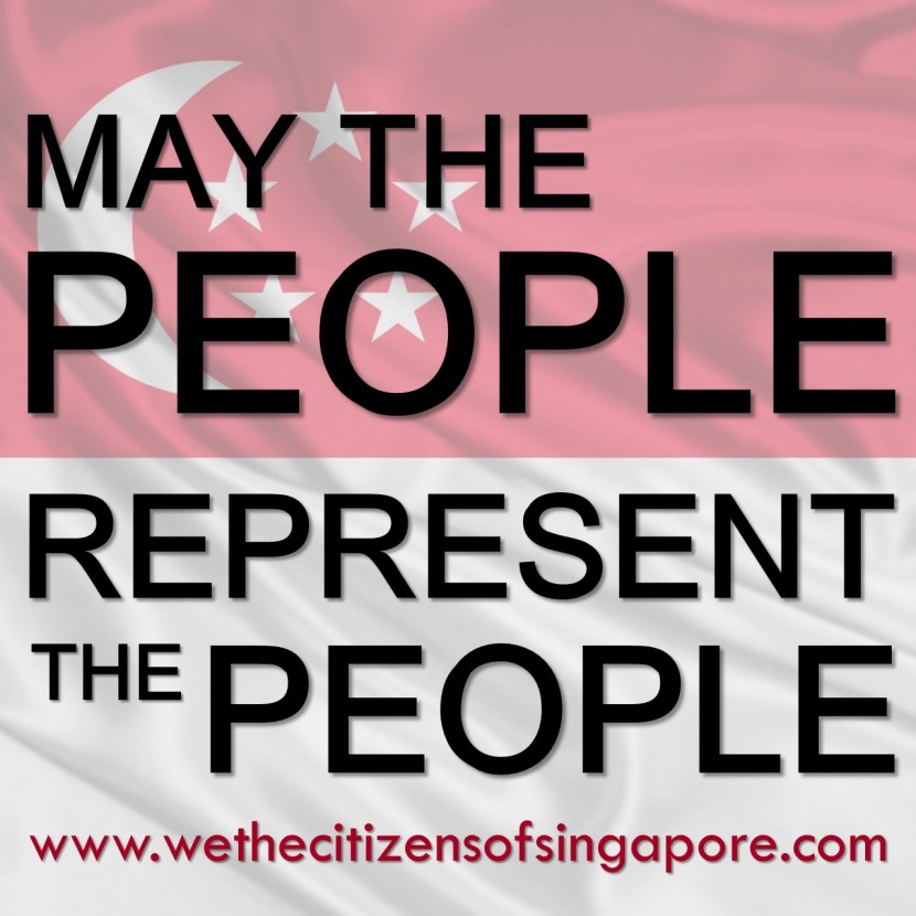 May The People Represent The People Emailer Publicity