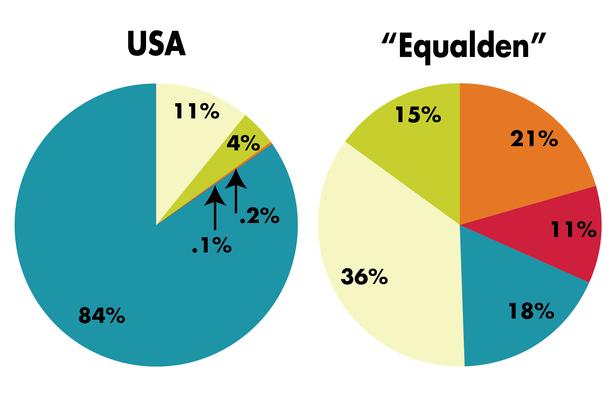 Chart 9 Equalden