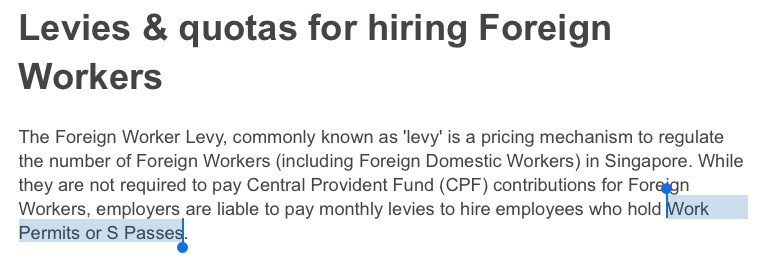 disadvantage of foreign workers in singapore In singapore, the term immigrant workers is separated into foreign workers and foreign talents foreign workers refers to semi- skilled or unskilled workers who mainly work in the manufacturing, construction, and domestic services sectors.