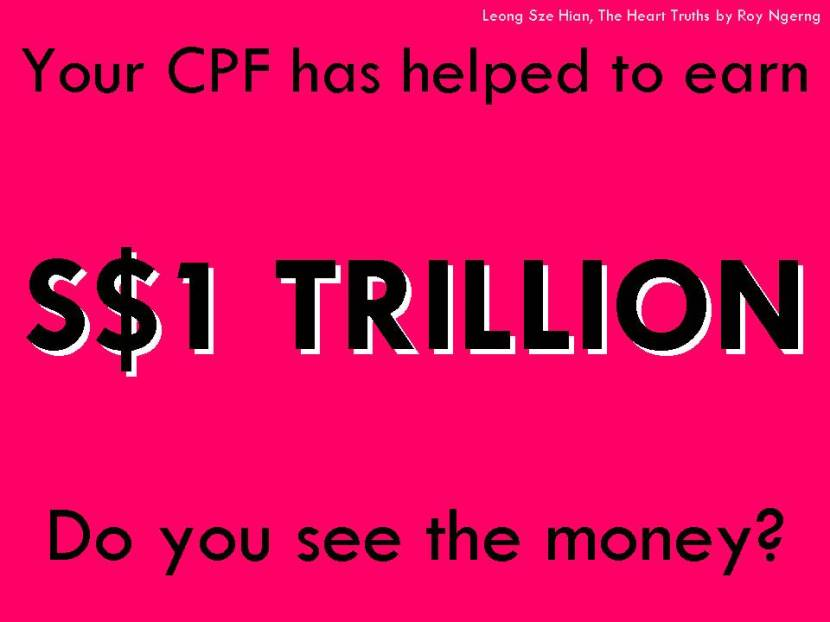 Your CPF has helped to earn S$1 TRILLION Do you see the money