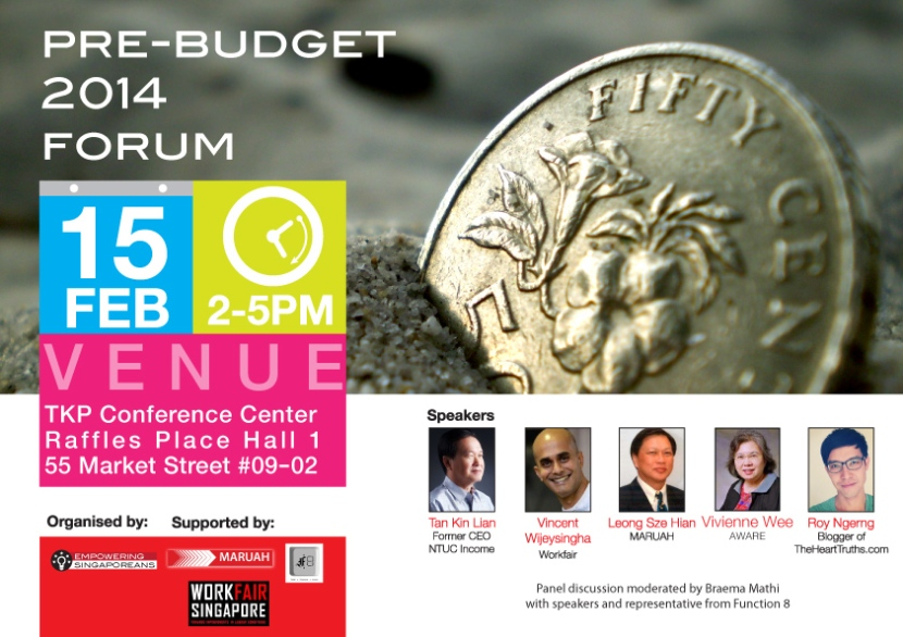 pre budget 2014 conference