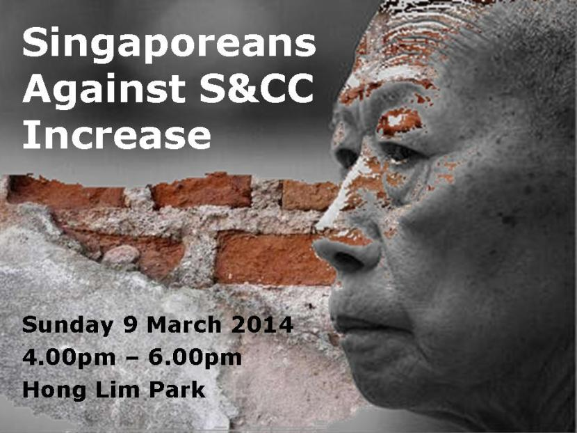 Singaporeans Against S&CC Increase