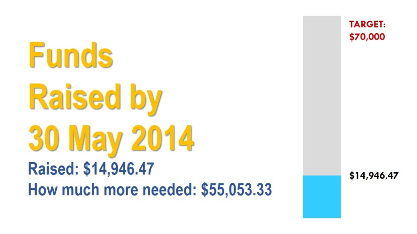 Funds Raised  by 30 May 2014