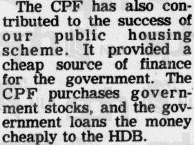 Newspaper Article - The dollars and sense of CPF