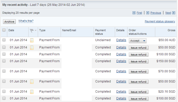 PayPal 1 to 2 June 2014c