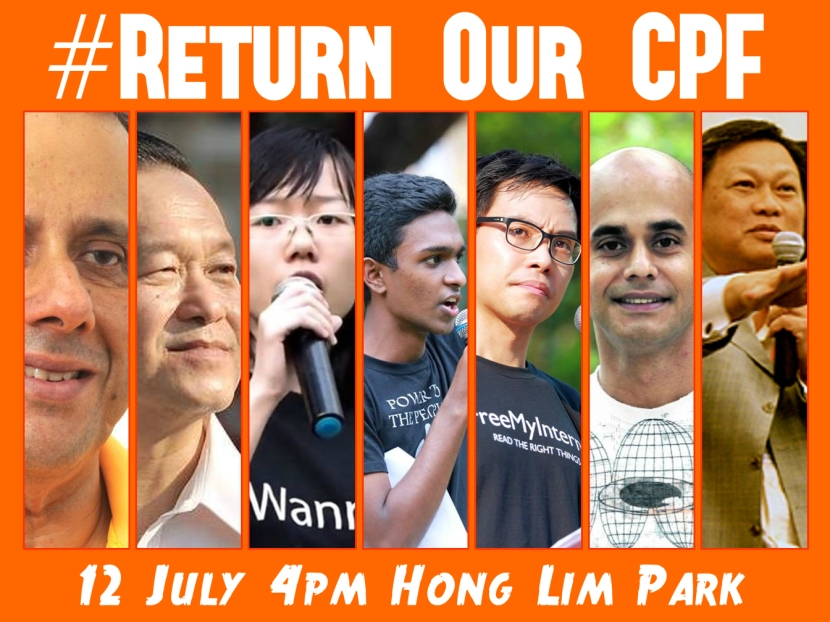 #ReturnOurCPF All Speakers Poster