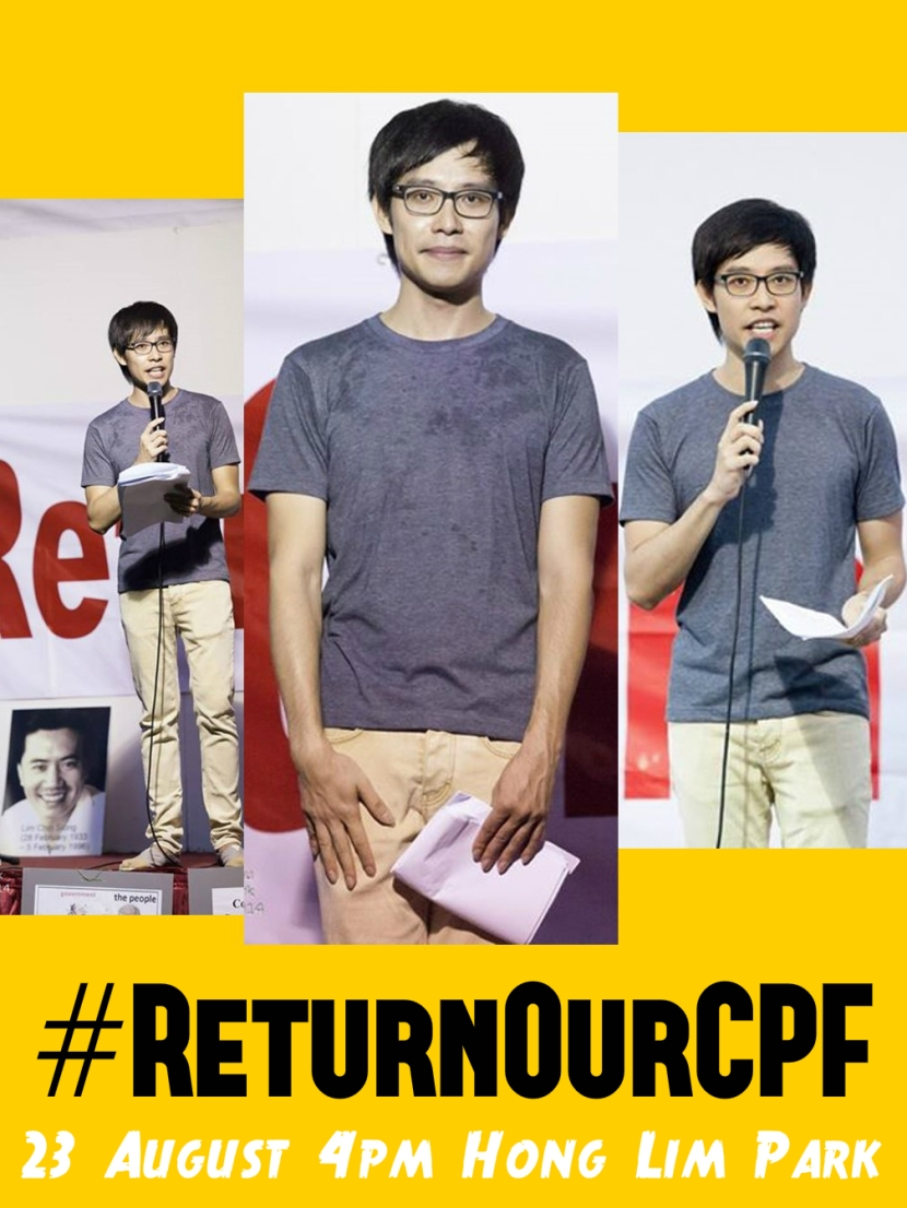 Return Our CPF 3 Poster Roy Ngerng text