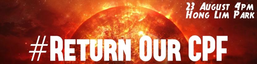 Return Our CPF sun poster