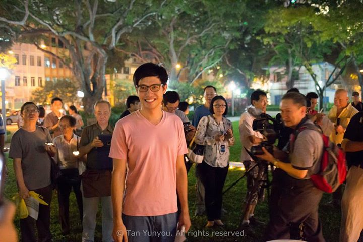 Candlelight Vigil for Roy Ngerng Photo 1