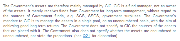 GIC manage CPF assets in a pool