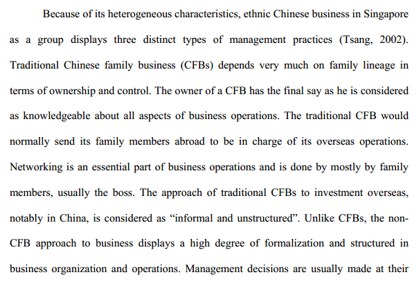 Globalization and the Rise of China Their Impact on Ethnic Chinese Business in Singapore b edited