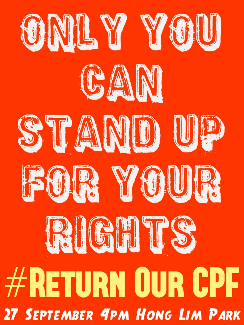 #ReturnOurCPF 4 Poster Only You Can Stand Up for Your Rights