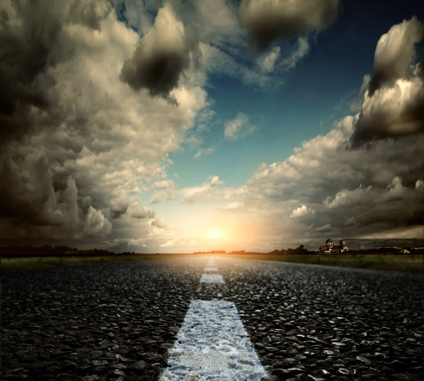 FreeGreatPicture.com-51021-thick-clouds-and-road