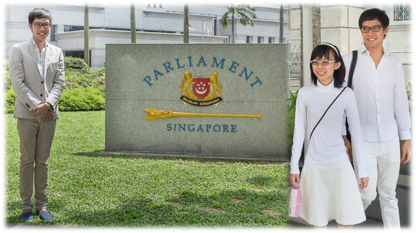 Roy Ngerng Parliament