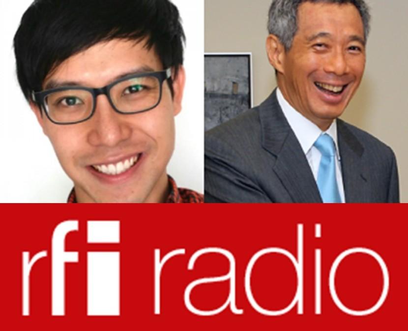 Roy Ngerng Lee Hsien Loong RFI 2