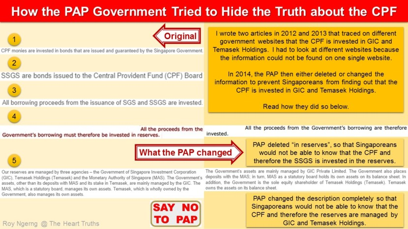 1 How the PAP Government Tried to Hide the Truth about the CPF @  Deleted