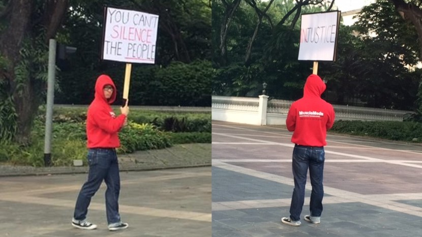 Men Protest Istana