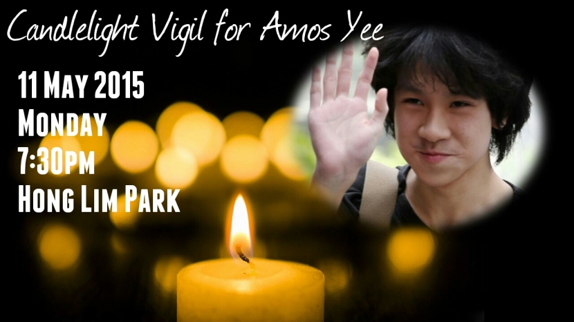 Candlelight Prayer for Amos Yee Short 2-1