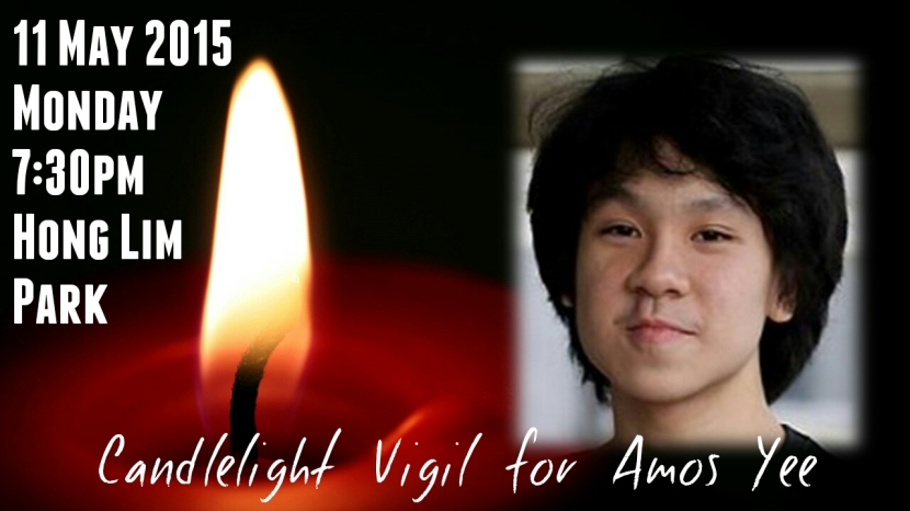 Candlelight Prayer for Amos Yee Short 4-1