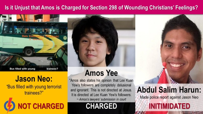 Unjust Amos Charged 1