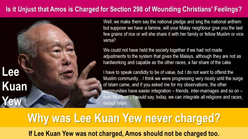 Unjust Amos Charged 4