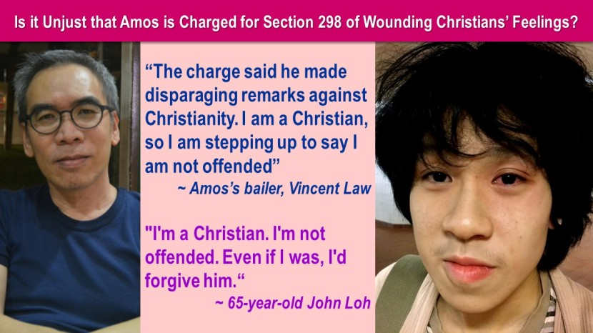 Unjust Amos Charged 5