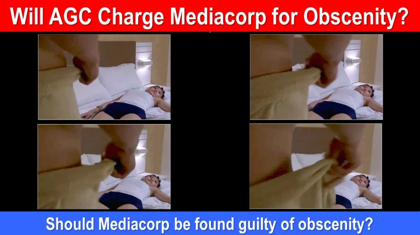 Will AGC Charge Mediacorp for Obscenity 1