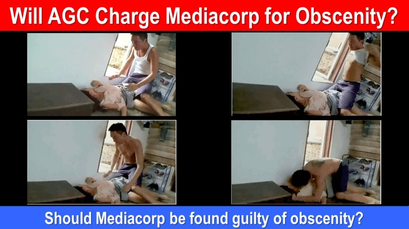 Will AGC Charge Mediacorp for Obscenity 2