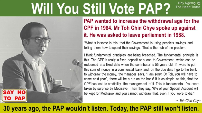 3 Will You Still Vote PAP