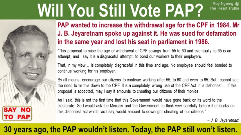 4 Will You Still Vote PAP