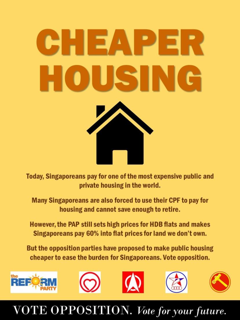5 Vote Opposition @ Housing