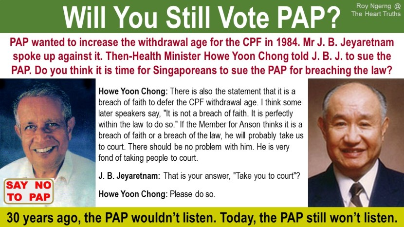 5 Will You Still Vote PAP