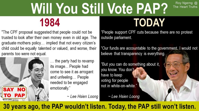 6 Will You Still Vote PAP