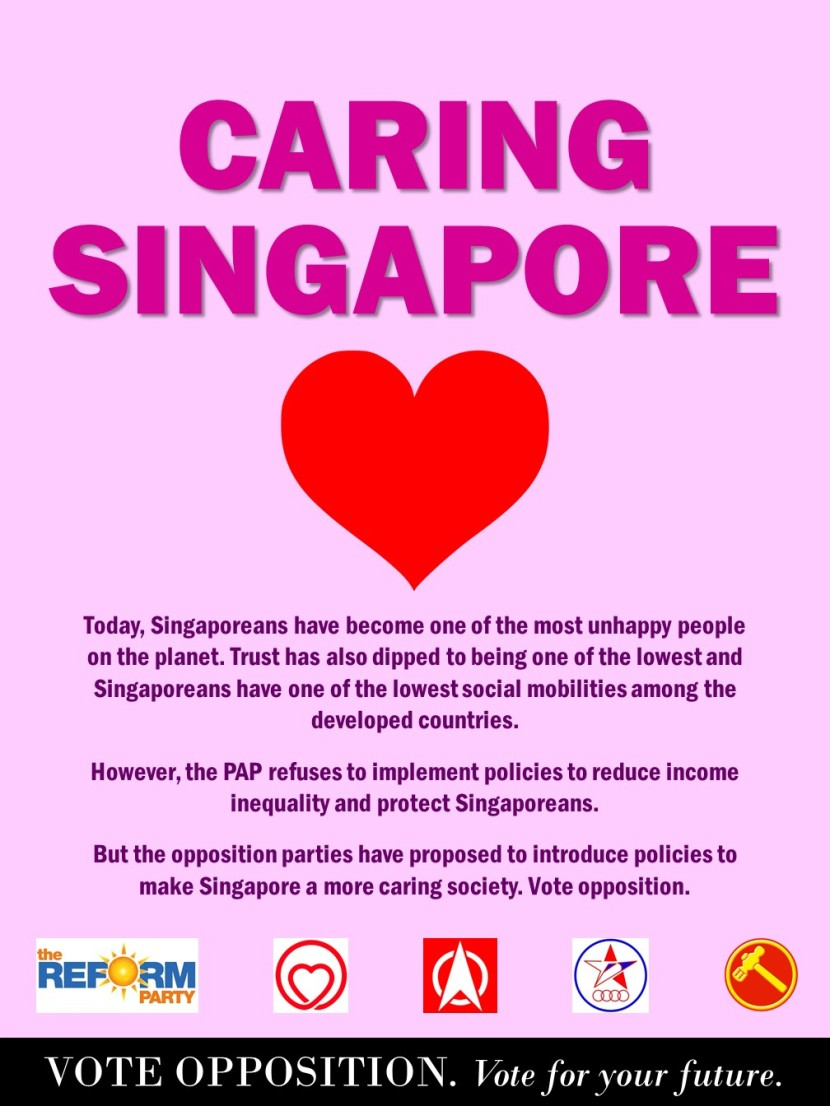 7 Vote Opposition @ Caring Singapore