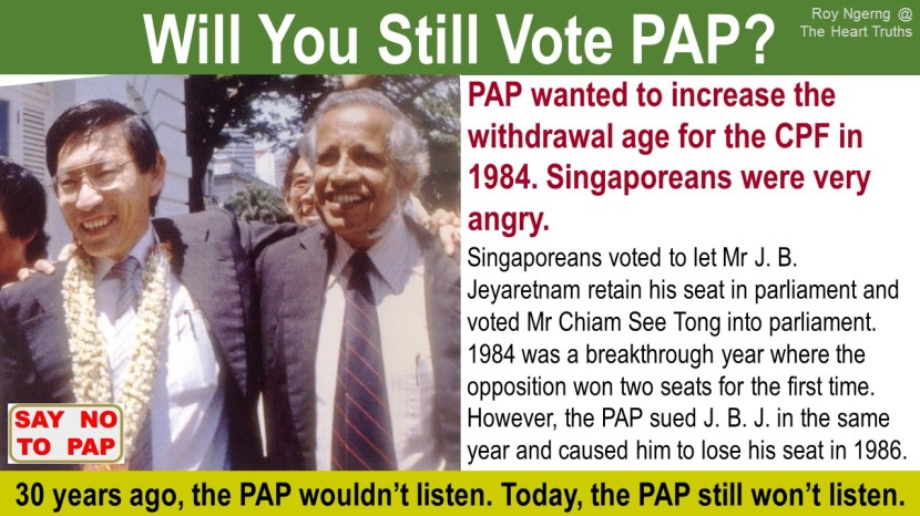 8 Will You Still Vote PAP