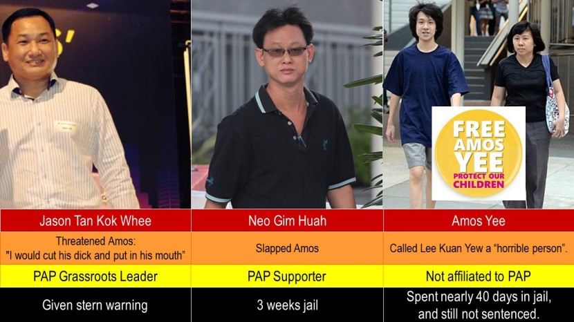 Amos Yee vs PAP