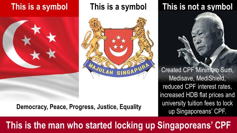 This is the man who started locking up Singaporeans' CPF