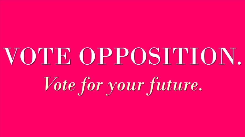 Vote Opposition Vote for your future