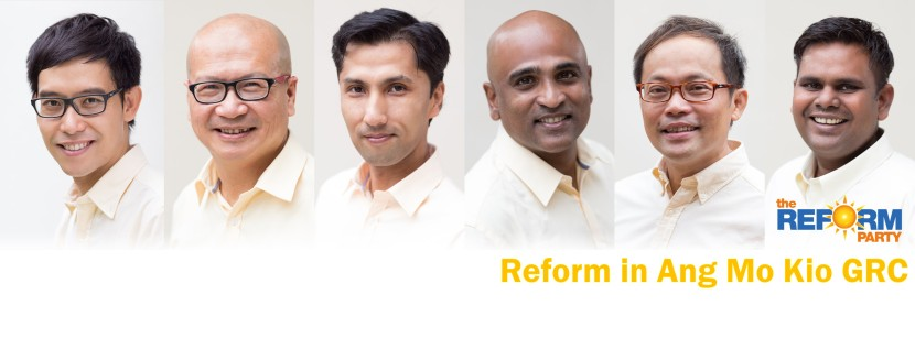 Reform Party Ang Mo Kio GRC Facebook Cover Photo High Resolution For Facebook