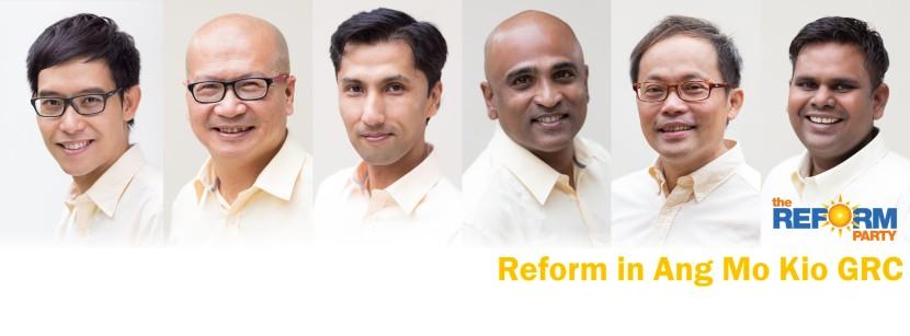 Reform Party Ang Mo Kio GRC Facebook Cover Photo High Resolution For Facebook