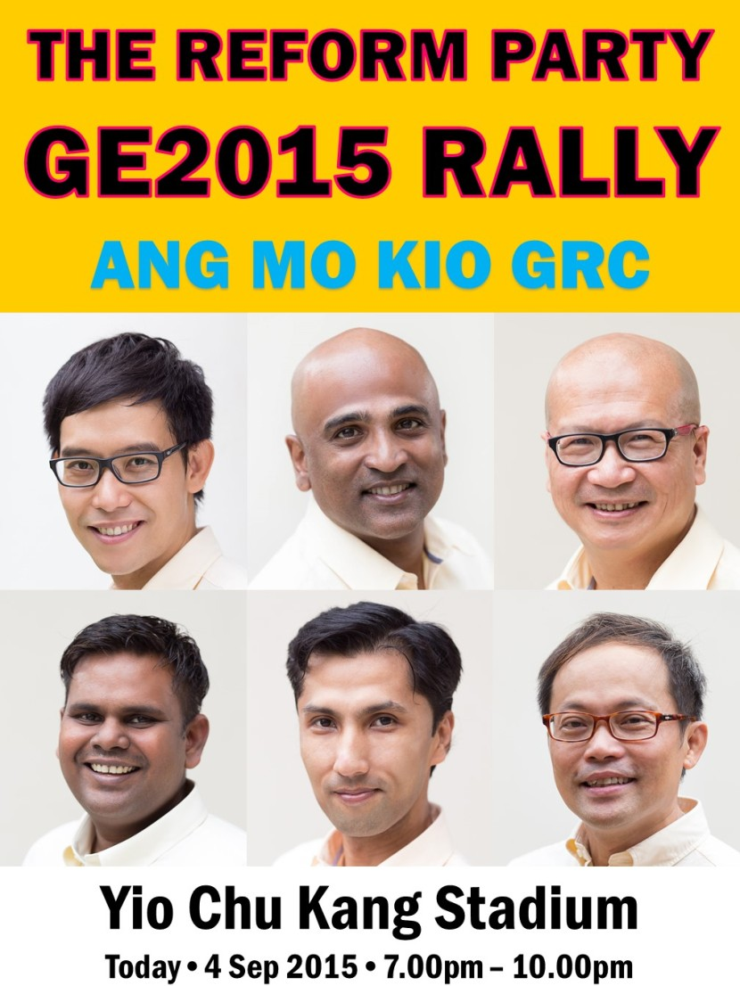 The Reform Party GE2015 Rally 4 September 2015 f