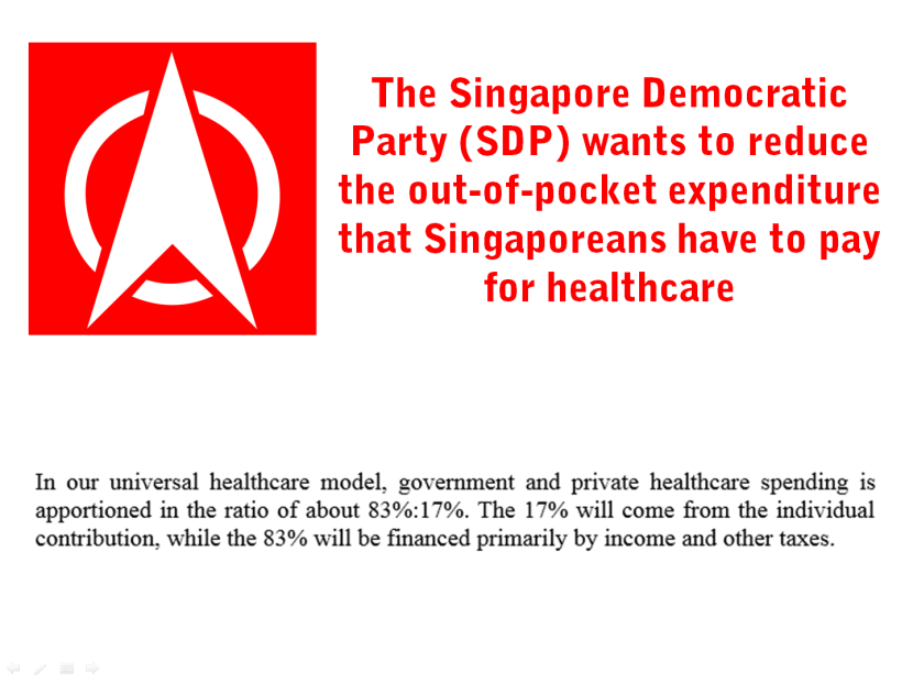 27 SDP wants to reduce out-of-pocket health expenditure for Singaporeans.png